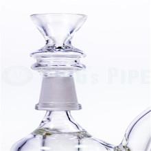 Tazón de cristal femenino del precio de fábrica 10m m para el tabaco que fuma (ES-AC-032)