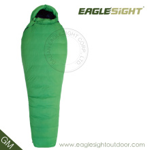 Down Nylon Mummy Sleeping Bag for Extrem Weather