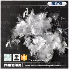 fibra de pp de agente reforzado concreto