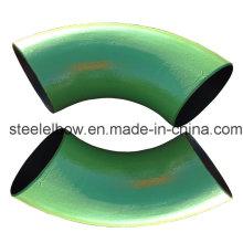 Carbone bout à bout en acier soudée sans couture 90 degrés coude