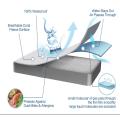 hospital bed vinyl waterproof mattress cover