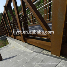 Atmospheric corrosion resistant corten steel plate ASTM A709