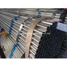 Tubo de aço galvanizado / tubo de aço galvanizado / galvanizado canalização / Zn revestido-28