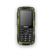 Teléfono móvil resistente al aire libre al aire libre con la función a prueba de polvo