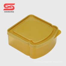 Top quality small bread box food storage containers plastic for sale