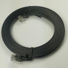 Cabo Ethernet Flat Cat6 Cabos Patch Fino Cat6
