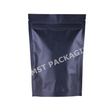 Stand Up Compostable Coffee Packaging Plastic Zipper Bag