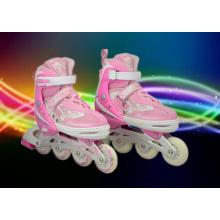 PU Wheel Pink Children Roller Skate