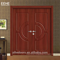 PVC Filmend Wooden Door with Cheap Price in China