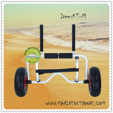 Sit On Top Outdoor Folding Cart, Caone Carrier And Kayak Cart