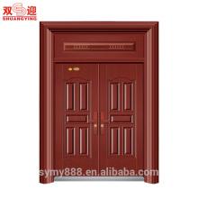 Роскошный интерьер водоустойчивый гальванизированный стальной двери