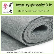 Graue Farbe Dickes Polyester Nadel gelocht Filz
