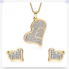 Accessoires de mode Bijoux fantaisie Ensembles de bijoux en acier inoxydable (JS0225)
