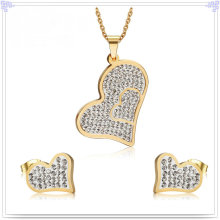 Fashion Accessories Fashion Jewelry Stainless Steel Jewelry Sets (JS0225)
