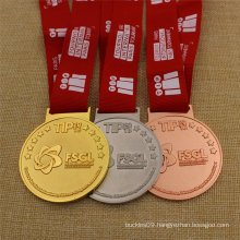 Custom Gold Silver Bronze Sport Metal Customized Medal