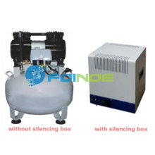 portable dental oilless air compressor