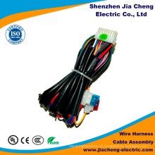 Chicote de fios liso do conjunto de cabo feito em China