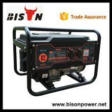 BISON CHINA TaiZhou OHV 2kv refrigerado a ar de gasolina pequeno gerador alternador AC