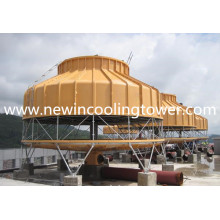 Sistema de torre de resfriamento fechado industrial