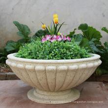 Fourniture de pot de fleur pavé