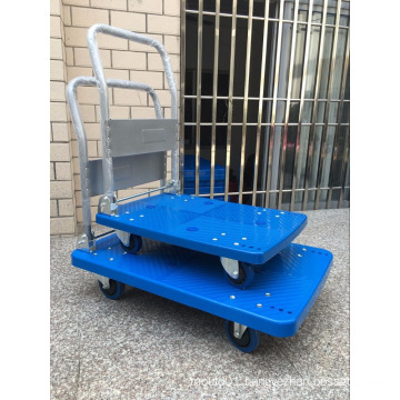 Four-wheeled Platform Trolley Tools Usage Hand Truck foldable
