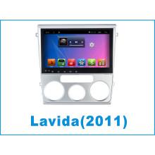 Sistema Android carro DVD Bluetooth para Lavida com carro DVD Player / GPS carro Navegação