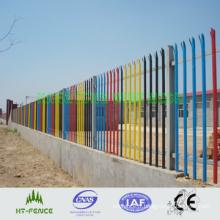 Clôture de palissade de haute sécurité