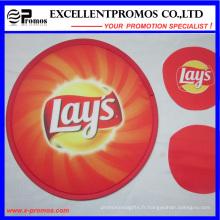 Frisbee de nylon publicitaire pliable avec pochette (EP-F58405)