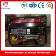 Tigmax Th2900dxe essence générateur 2kw clé Start pour alimentation