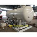 10cbm 5 MT Skid Mounted LPG Tanks