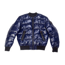 shiny nylon fabric padding jacket