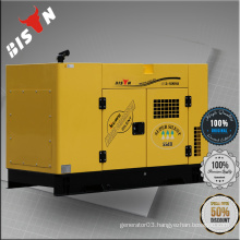 BISON China 11KW 11KVA AC Single Phase Water Cooled 11kv Container Power Generator
