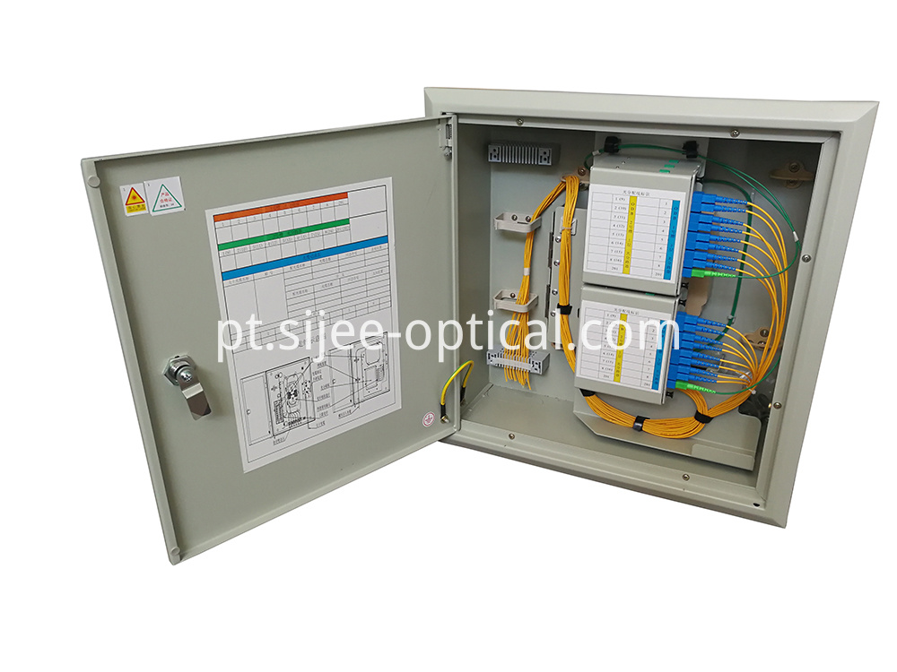 FTTH Fiber Optic Distribution Cabinet