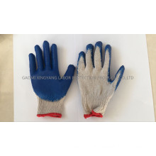 Latex Palm Coated Smooth Finish Work Gloves