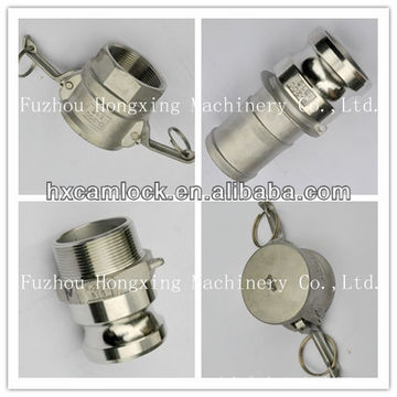 Stainless steel npt quick release coupling