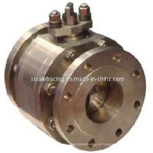 Válvula de esfera de aço inoxidável da haste desencapada