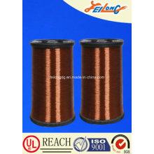 200 Polyesterimide Alambre de cobre redondeado esmaltado recubierto con poliamida