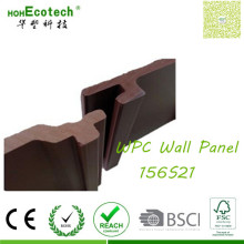 Interlocked Panel Flooring Supplies Wood Look WPC Wall Cladding