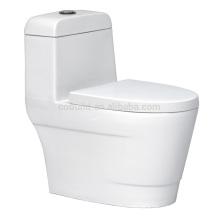 CB-9803 Balcão promocional montado no chão de uma peça Ceramic One Piece Toilet Bowl bidet toilet germany