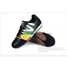 Hombre dinero apretón antideslizante zapatos de fútbol 02