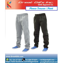 Winter warm Fabric fleece trouser and pant with custom style joggers