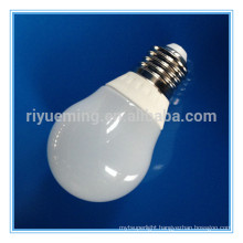 5W E27 Plastic Coated Aluminum Mini Globe LED Bulb Lamp