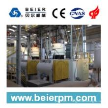 SRL-W 1000/3000 mélangeur horizontal de chauffage / refroidissement à grande vitesse en plastique / machine de Compounding