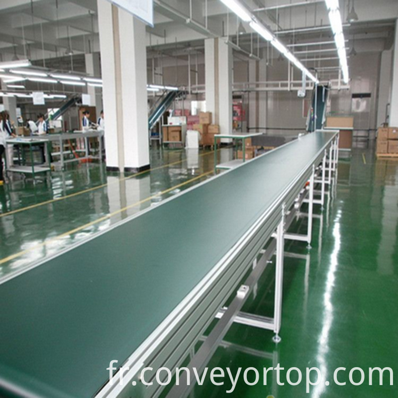 Aluminum Frame Belt Conveyor
