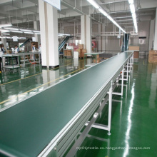 Transportador de correa del PVC del marco de aluminio de la alta calidad