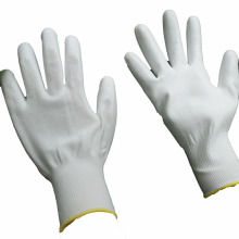 NMSAFETY new certificate 3121X pu coated white glove