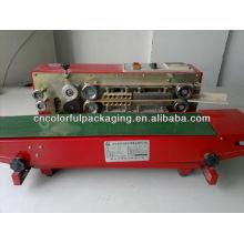 Heat seal machine/Continuous plastic bag sealer heat sealing machine