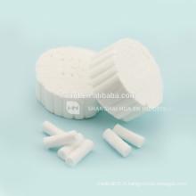 Rouleaux de coton médicaux