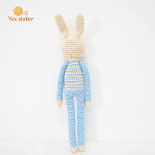 Baby Gifts Easter Bunny Crochet Doll toy