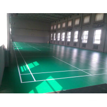Revêtements de PVC de haute qualité de certificat de Bwf utilisés à l'épaisseur de la cour de badminton 4.5mm / 5mm